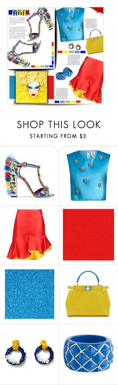 """Embellished Shoes"" by mmk2k ❤ liked on Polyvore featuring Dolce&Gabbana, Maison Rabih Kayrouz, Preen, Fendi, Jennifer Lopez, Miriam Salat, shoes, dolceandgabbana and embellishedshoes"