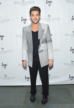 Adam Lambert - LOGO Trailblazer Honors #menswear