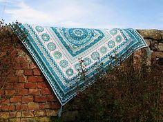 Ravelry: Sophie loves Lilla Bjorn Winter Blanket Border pattern by Emma Aldous, free Square Blanket, Afghan Blanket, Crochet Round, Crochet Home, Free Crochet, Knit Crochet, Homemade Blankets, Afghan Crochet Patterns, Crochet Afghans
