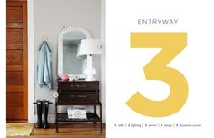 How to style an entryway