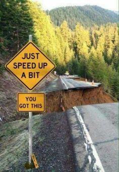 Speed up a bit. You've got this
