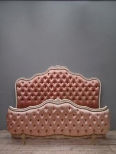 Gorgeously girly Baroque bed