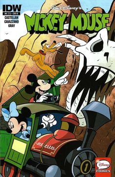 Cover for Mickey Mouse (IDW, 2015 series) #4 / 313