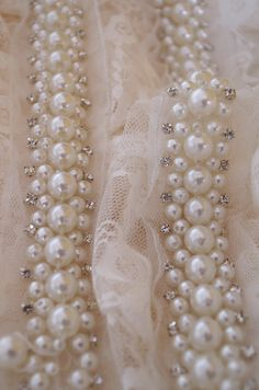 Online Shop pearl beaded trim, pearl lace trim, pear bead rhinestone trimming for sash, headband, top quality wedding decors Beaded Trim, Beaded Lace, Beaded Embroidery, Lace Trim, Couture Embroidery, Pearl And Lace, Gold Lace, Fancy, Bridal Shoes