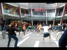 Flash Mob Haka at Sylvia Park in Auckland  ---  This tears it.  I'm moving to New Zealand.