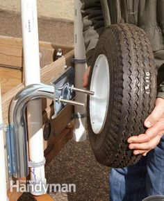 Get more value and better performance from your utility trailer. These easy DIY upgrades and add-ons will let you haul cargo more efficiently and safely, without costing you a bundle. Kayak Trailer, Trailer Diy, Trailer Tires, Trailer Plans, Trailer Build, Work Trailer, Off Road Trailer, Utility Trailer Accessories, Vehicle Accessories