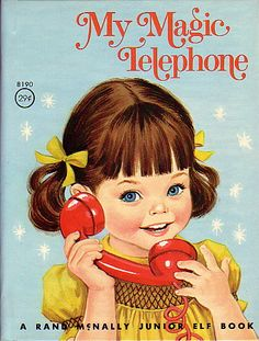My Magic Telephone. Favorite book that my great grandma read to us growing up, it is now my kids favorite story at bedtime.