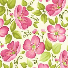Blushing by Margot Languedoc for Henry Glass Fabrics: Blushing is a colorful collection by Margot Languedoc for Henry Glass Fabrics. cotton, This fabric features a large floral in pink on an off white background. Background Vintage, Paper Background, Background Patterns, Pattern Paper, Pattern Art, Print Patterns, Scrapbook Paper, Scrapbooking, Backgrounds Wallpapers