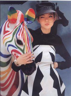 >>> rainbow zebra, Xiao Wen Ju