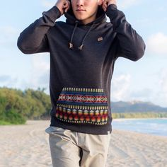 Hoodie and Wind . Men's fashion