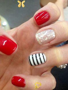 25+ Easy Nail Art Ideas 25+ Easy Nail Art Ideas - #nail #nails #nailart #naildesign #nailcolor #nailideas #diy #diynail #diynails<br> Easy Nail Art, Cool Nail Art, Makeup Trends, Nails Polish, Toe Nails, Nail Art Designs, Red Toenails, Red Nail Art, Pin On