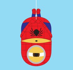 Minion Spiderman  A Cute Collection Of Despicable Me 2 Minions | Wallpapers, Images & Fan Art