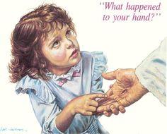 Jesus what happen to your hand