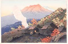 Itō Takashi (Japan, 1894-1983), Charcoal-Making at Yachi in Late Autumn, 1950, Gift of Mr. and Mrs. Felix Juda (M.73.37.444), © Ito Takashi Estate