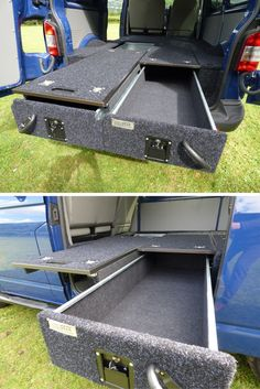We have these amazing drawer systems that give you secure storage for tools or anything else you can think of. We fitted one set to come out the back of the T5 and another out the side door. See if we do one for you or come and see them in our showroom #Drawers #SecureStorage #VW #T5 #LandRover #Discovery #Defender #Mitsubishi #L200 #Izusu #DMax #TooManyToMention