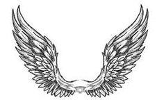 Resultado de imagem para open angel wing