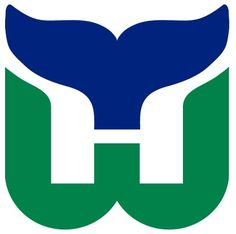 Hartford Whalers Primary Logo on Chris Creamer's Sports Logos Page - SportsLogos. A virtual museum of sports logos, uniforms and historical items. Hockey Logos, Nhl Logos, Sports Logos, Sports Teams, Hockey Teams, Ice Hockey, Nfl Highlights, Hartford Whalers, Old Logo