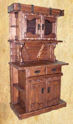 Буфет под старину Престиж сделанный из массива дерева