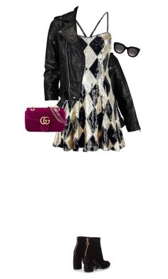 """party look"" by fanfan-zheng ❤ liked on Polyvore featuring VIPARO, STELLA McCARTNEY, Gucci and Muse"
