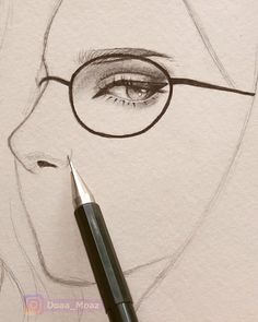 Drawing a girl portrait -You can find Female faces and more on our website.Drawing a girl portrait - Pencil Art Drawings, Art Drawings Sketches, Realistic Drawings, Cool Drawings, Art Sketches, How To Draw Realistic, Hard Drawings, Amazing Drawings, Watercolor Skin Tones