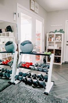 Home Gym Set, Small Home Gyms, Dream Home Gym, Diy Home Gym, Gym Room At Home, Home Gym Decor, Best Home Gym, Home Gym Basement, Home Gym Garage