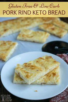 Pork rind low carb keto bread