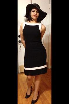 Cocktail Black Dress  #Woman #BlackDress #ChurchDress    **************SOLD*************
