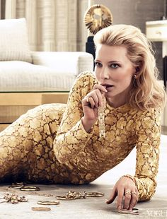 Cate Blanchett for Vogue US by Craig McDean