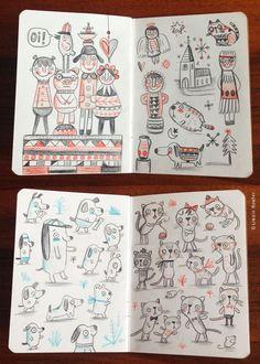 Sketchbook (pencil) on Behance