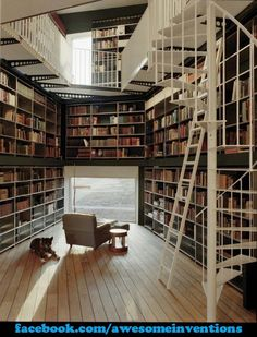 Awesome Home Library!