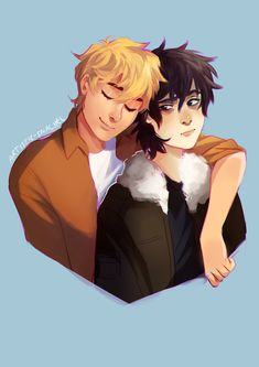 solangelo by artistic-snachel Nico di Angelo and Will Solace Percy Jackson Fan Art, Percy Jackson Fandom, Percy Jackson Wallpaper, Percy Jackson Ships, Percy Jackson Memes, Percy Jackson Books, Grover Percy Jackson, Will Solace, Solangelo Fanart