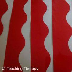 Μπορντούρα για πίνακα ανακοινώσεων | Teaching Therapy