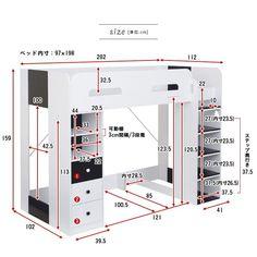 Build A Loft Bed, Loft Bed Plans, Loft Bunk Beds, Bunk Beds Built In, Bunk Beds With Stairs, Room Design Bedroom, Bedroom Furniture Design, Bedroom Loft, Mini Closet