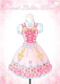 Western Lolita by Neko-Vi on DeviantArt Harajuku Fashion, Kawaii Fashion, Lolita Fashion, Mery Chrismas, Drawing Anime Clothes, Clothes Pictures, Fashion Art, Fashion Design, Anime Outfits