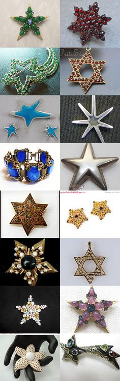 You Are A Star March Unique Gifts #Voguet #Vogueteam Shop Of The Day. These are some of the wonderful finds you will find in the Vintage Vogue Team shops. You may search by vogueteam to find the shops and items. Celebrating Sue of PurpleDaisyJewelry Curator: Gena Lightle from https://www.etsy.com/shop/Kissisjustakiss?ref=pr_shop_more