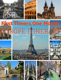 This one month Europe Itinerary outlines the places that first timers to the region shouldn't miss out on.