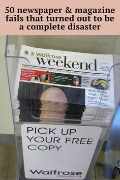 Magazines and newspapers have largely been replaced by online news websites, but they are still around. Sometimes their layout is unintentionally hilarious, but a conspiracy theorist would say that it could be done on purpose to go viral. We'll never know. What we can do is take a look at the funniest layour fails. Shall we? #funniest #funniestfails #fails #disaster #magazinefails