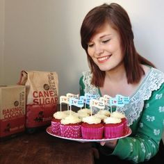 Fairtrade Red Velvet Cupcakes | Shannon L. | #BigFairBake