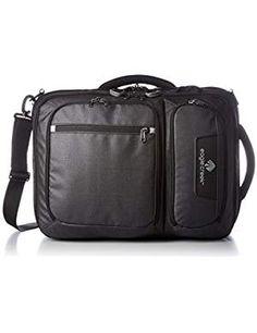 Eagle Creek Convertabrief, Asphalt Black, One Size Best Handbags, Fashion Handbags, Eagle Creek, Briefcases, Image Link, Fashion Design, Black, Black People, Briefcase