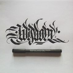 blackletter by Daniel Letterman