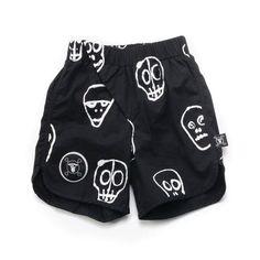 Skull Mask Surf Shorts