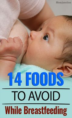 14 Foods To Avoid While #Breastfeeding : To save you from this anxiety, MomJunction has come up with a list of foods to avoid when breastfeeding.