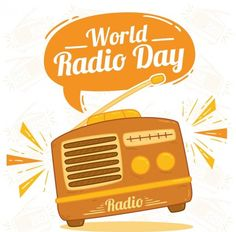 World radio day background in orange tones , Vintage Graphic Design, Graphic Design Templates, Music Background, Background Vintage, Radios, Retro, World Radio, Radio Design, Plakat Design
