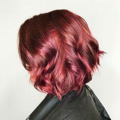 Image result for ginger hair pink highlights