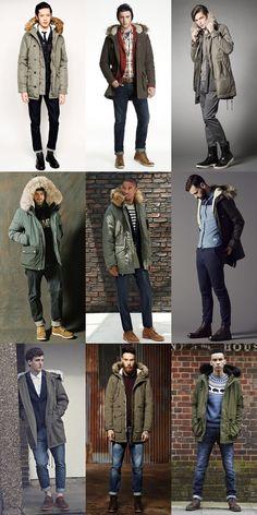 Мужская парка: что это и с чем ее носить? | Style Notes