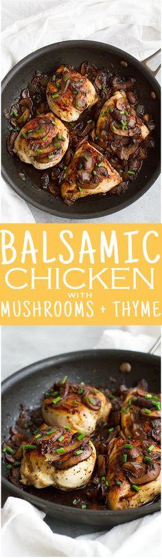 Balsamic Chicken wit