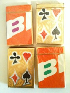 1960's LOT 2 SEALED BI BRANIFF PLAYING CARDS, BRANIFF AIRLINES DECK CARDS GREEN | eBay