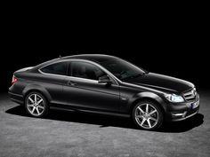 2012 Mercedes C-Class Coupe C250 CDi, black car, images