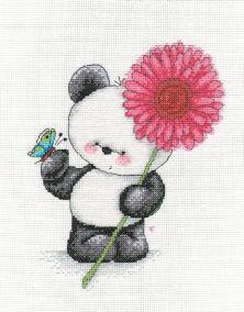 Cotton Crosses Party Paws Cross Stitch Kit - Gerbera on ebay