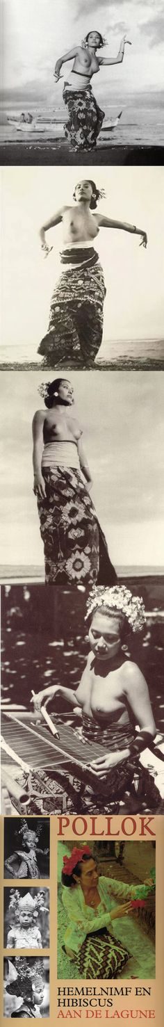 with her two friends worked every day as models. The beauty and splendid figure & character of Ni Pollok had made Le Mayeur enjoy his stay in Bali. Native Girls, Exotic Dance, Anthropologie, Tribal Women, People Of The World, Borneo, Dutch East Indies, World Cultures, Vintage Images